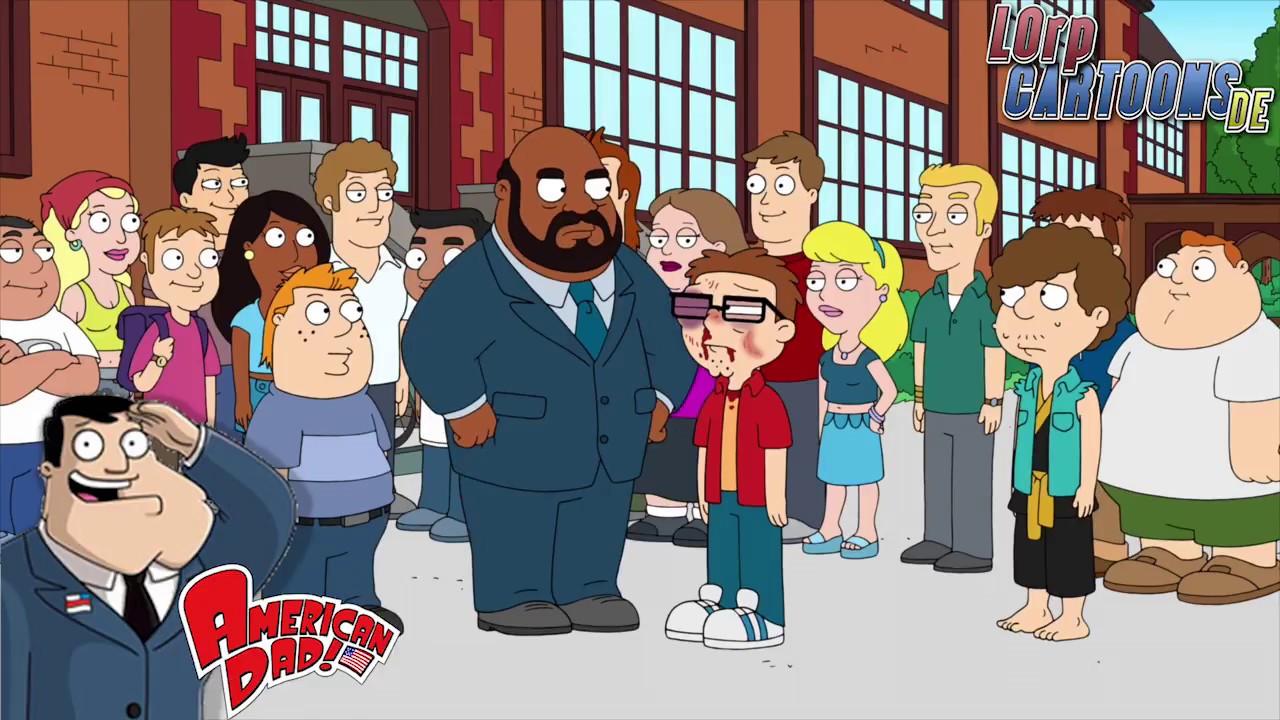 Snot verprügelt Steve! (American Dad Best of #8) [Deutsch ...