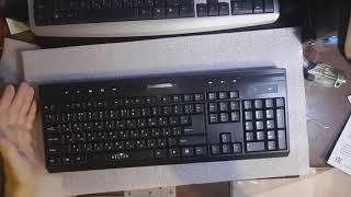 Обзор клавиатуры с мышью oklick 280m aliexpress