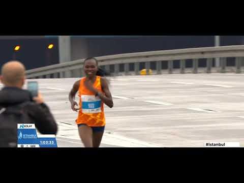 NEW Women's  Half Marathon World Record -Ruth Chepngetich (Ruth Chepng'etich) İstanbul