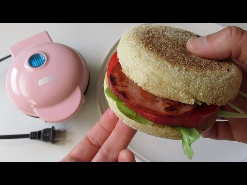 Dash Mini Griddle Recipe - BLT Sandwich - RV Cooking Dorm Cooking Van Cooking