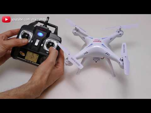 How To Re-calibrate SYMA Quadcopters X5C X5SW