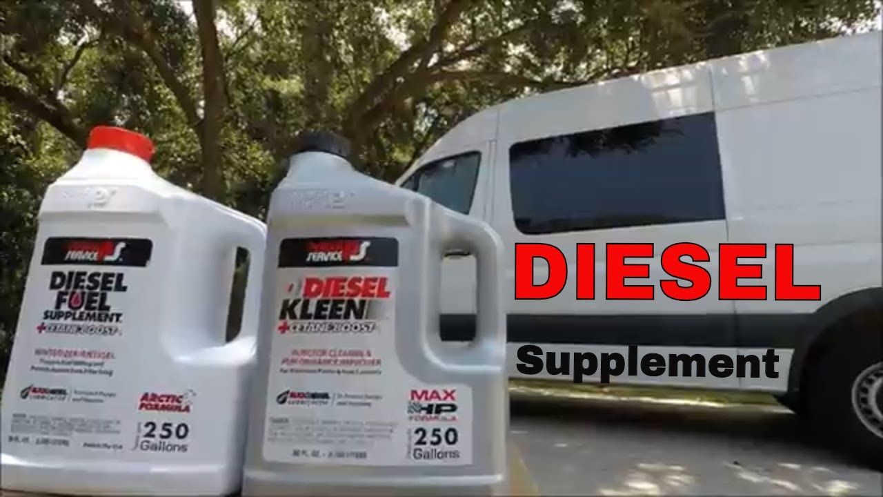 Diesel Fuel Treatment Supplement Additive Engines Mercedes Benz Additives Sprinter Rv Ps Power Service