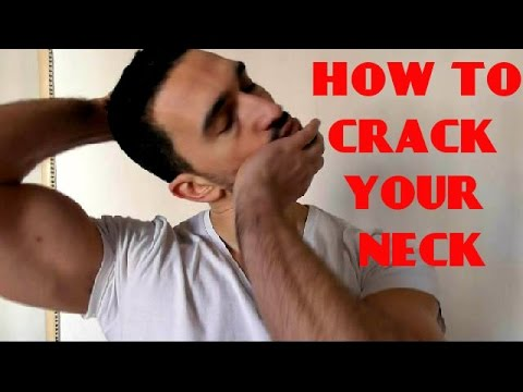 How To Adjust Your Own Neck - C1/C7