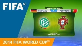 Germany v. Portugal - Teams Announcement