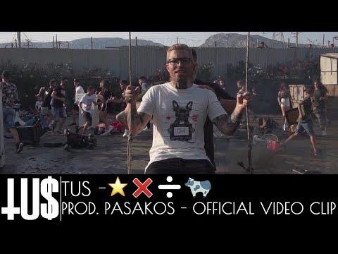 Tus - ⭐️❌➗🐄 Prod. Pasakos - Official Video Clip