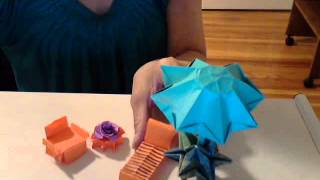 Origami Patio Lounge Chair Tutorial (part 1) By (s.  Ma)