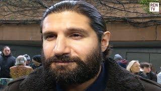 Kayvan Novak Interview Early Man Premiere
