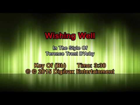 Terence Trent D'Arby - Wishing Well (Backing Track)