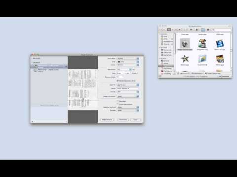 How to Scan to a Mac from an HP All in One Printer - YouTube