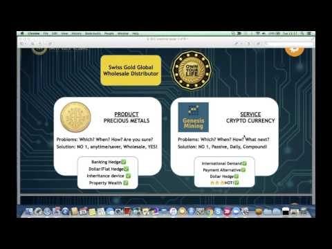 Swiss Gold - BitCoin Mining - Gold & Silver