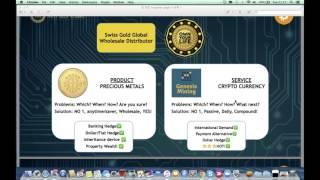Swiss Gold - BitCoin Mining - Gold & Silver