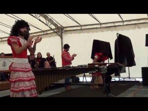2014 - Nadal.  Vaia Banda!. 'Banda Xuvenil da Escola de Música de S. C. de Ribadulla'  con  Odaiko.