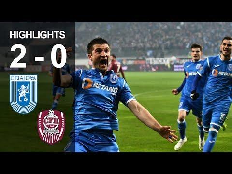 Rezumat: U Craiova - CFR Cluj 2-0 Liga 1 Etapa 23 Sezon 2018-2019