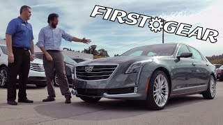 First Gear - 2017 Cadillac CT6 Premium Luxury - Review and Test Drive