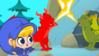 Two Dragons Are Better Than One | Morphle Cartoons | Kids Cartoons | Sandaroo