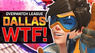 Overwatch - Dallas DESTROY Spitfire! - Dive Vs Brigitte [Pro OverAnalyzed]