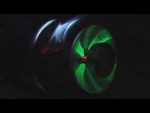 EM11 radio tuning indicator (magic eye) as a VU meter