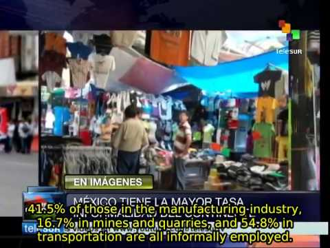 Mexico's informal economy is Latin America's largest