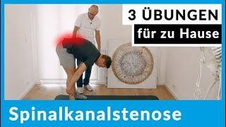 Spinalkanalstenose - 3 Übungen für zu Hause (sofort anwendbar)