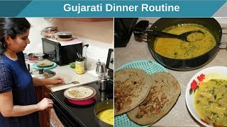 Tuesday Vlog -Special Gujarati Dinner Routine - Experiement - Bajra Rotla & Green Onion Kadhi