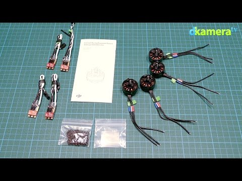 Mini-Octocopter: DJI Snail Antriebsset Unboxing (#02)
