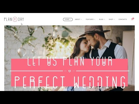 Wedding Planner WordPress Website Theme Review For 2020