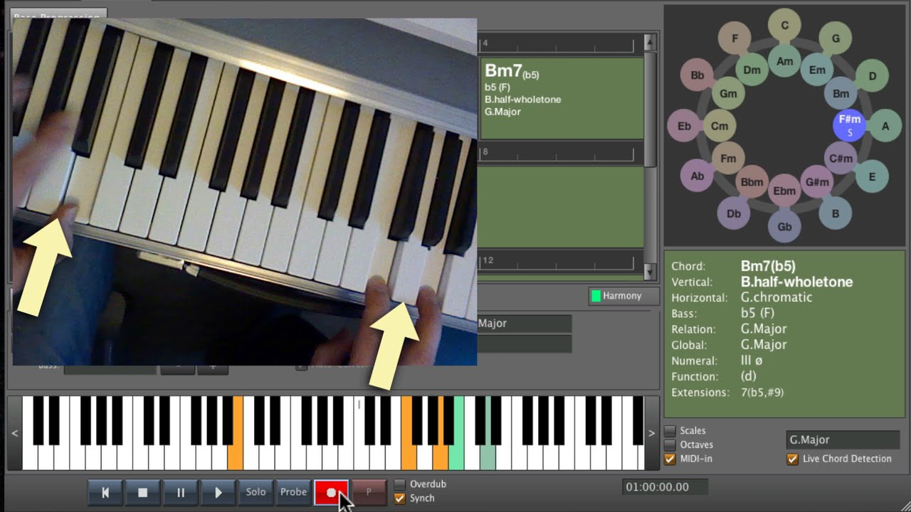 Live chord detection youtube hexwebz Image collections