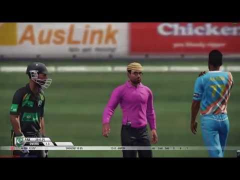 Don Bradman Cricket 14 PC Gameplay | India vs Pakistan | Ten 10 Overs