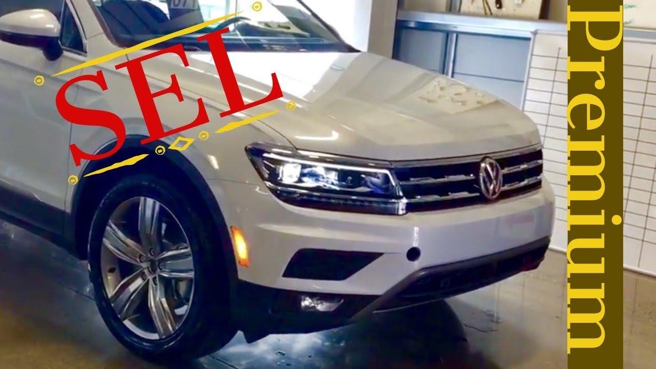 2018 volkswagen tiguan sel. Interesting Sel 2018 VW Tiguan SEL Premium White Silver Metallic And Volkswagen Tiguan Sel