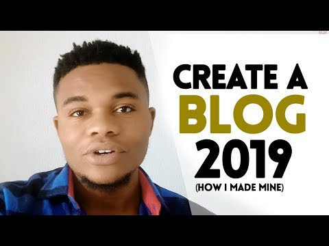 How To Create A Blog Tutorial In 2019 [how I Made Mine]
