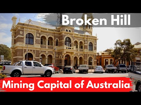 Broken Hill in Four Minutes | Driving Around | Outback NSW