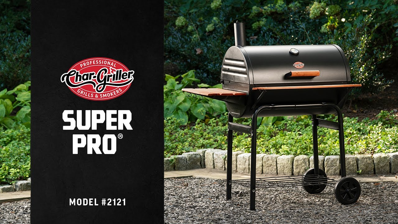 Char griller professional grill and smoker - Char Griller Super Pro 2121