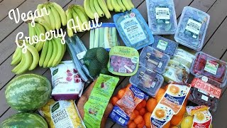 Vegan (Mostly Raw) Grocery Haul