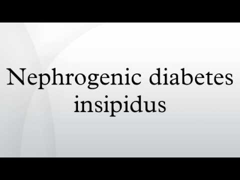 central neurogenic diabetes insipidus Diabetes insipidus is a hormonal condition that causes the individual to is a form of central diabetes insipidus especially in regards to neurogenic.