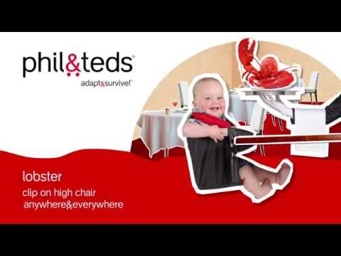 lobster™ high chair – anywhere & everywhere – phil&teds® 2015