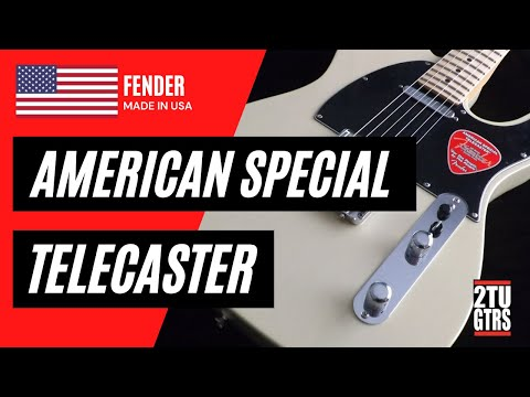 Fender American Special Telecaster Review & Demo