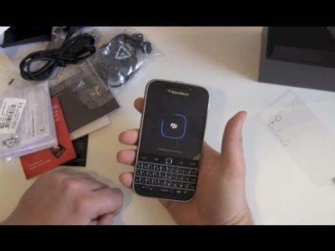 BlackBerry Classic Unboxing und erster Eindruck