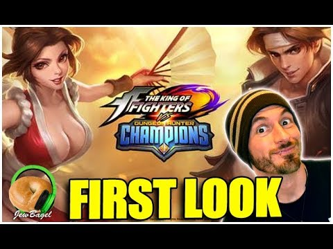 DUNGEON HUNTER CHAMPIONS: Tackling the new King of Fighters Event!