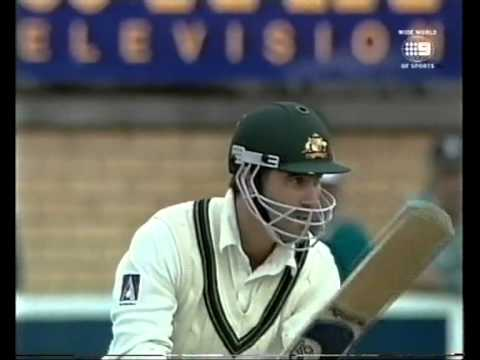 Justin Langer 127 vs Pakistan 2nd test Hobart 1999/00