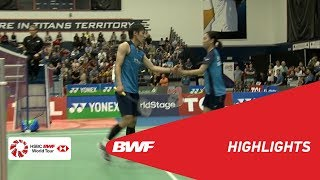 YONEX US Open 2019 | Semifinals XD Highlights | BWF 2019