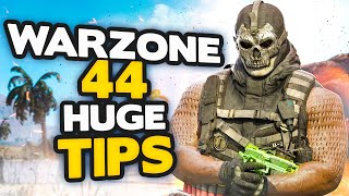 *NEW* Warzone 44 HUGE tips to INSTANTLY get BETTER (Call of Duty Modern Warfare)