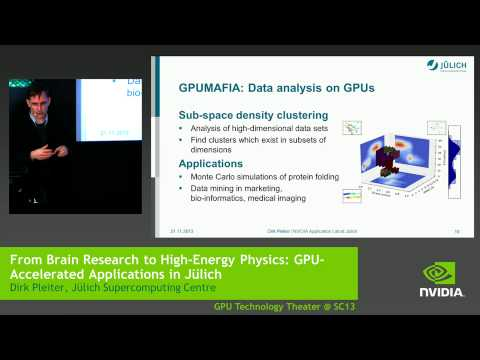 From Brain Research to High-Energy Physics: GPU-Accelerated Applications in Jülich