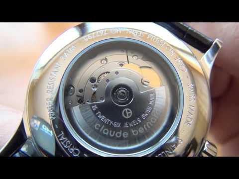 Unboxing:  Relógio Claude bernard 83014-3 AB Mecanico Automático (Original)