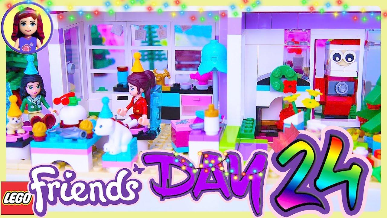 Lego Friends Day 24 Christmas Eve Advent Calendar Holiday Countdown