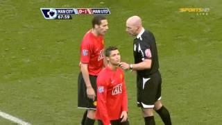Howard Webb Giving Cristiano Ronaldo a Red Card thumbnail