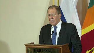 Глава МИД России прокомментировал ситуацию на Ближнем Востоке.