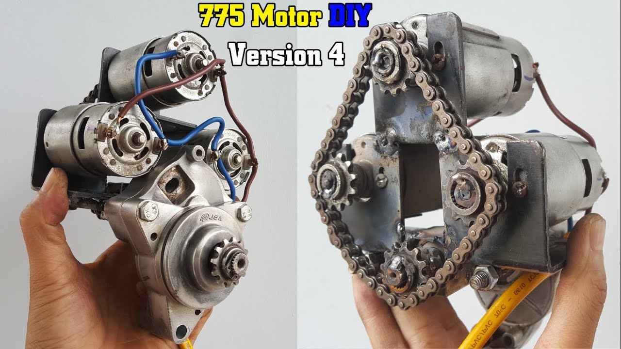 How To Make a Version 4 - 775 Motor