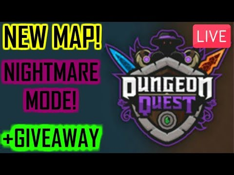 🔴🎩NEW MAP!!!+GIVEAWAY!!!🎩(Dungeon Quest RobloX)🔴