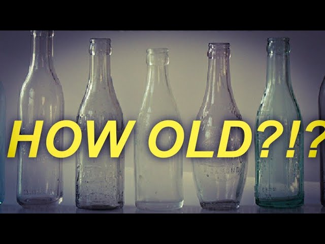 How to identify old bottles