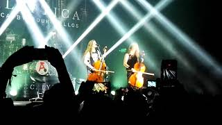 Apocalyptica-One-Plays Metallica By Four Cellos, Bogotá, Colombia 19/11/17